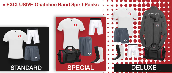 Ohatchee Band Spirit Packs